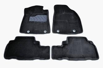 Коврики в салон 3D для Lexus RX 2009-2015 /Черные 4шт 89882
