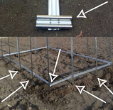 Теплица «Омега» 3х10 из оцинкованного омега профиля с пленкой 150 мкм, фото 3
