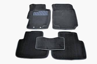 Коврики в салон 3D для Honda Accord VII 2003-2008 /Черные 5шт 88359