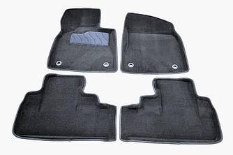 Килимки в салон 3D для Lexus RX 2015- /Чорні 4шт 88491