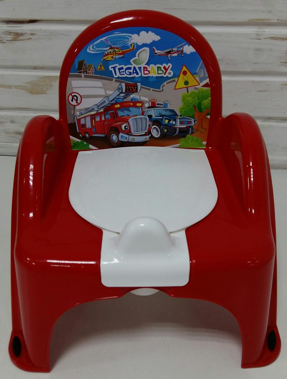 "Горшок-кресло ""Cars"", red  Tega Baby CS-007-121"
