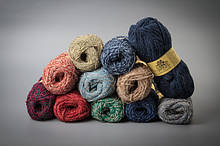 Colored Boucle Wool