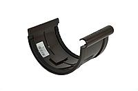 Соединитель желоба INES 120 мм водосточная система INES, Цвет RAL 8017 коричневый.