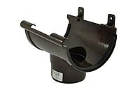 Воронка сливная INES 120 мм водосточная система INES, Цвет RAL 8017 коричневый.