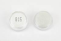 Глиттер Белый стеклянный 815 0,2 мм 1/128 Глиттер для маникюра тату боди-арта ногтей губ глаз 2 мл