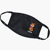 Многоразовая маска Лайк Лисичка (Likee Fox) (9259-1033) тканевая для детей и взрослых защитная