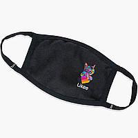 Многоразовая маска Лайк Котик (Likee Cat) (9259-1040) тканевая для детей и взрослых защитная, фото 1