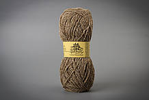 Пряжа полушерстяная Vivchari Colored Boucle Wool, Color No.901 беж букле + песочный