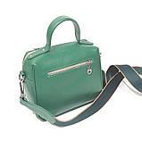 Сумка держащая квадратную форму, размер S, цвет зеленый, фото 4