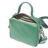 Сумка держащая квадратную форму, размер S, цвет зеленый, фото 5