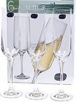 Набор Бокалов Для Шампанского Bohemia Uma 200Мл-6Шт B40860