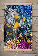 Настенный инфракрасный обогреватель Коралловый риф (рыбки) ТРИО, фото 1