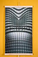 Настенный инфракрасный обогреватель Абстракция (Hi-Tech) 3D ТРИО, фото 1