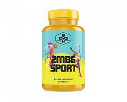 Цинк, Магний и Витамин B6,  MUST ZMB6 Sport 90 tabs