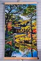 Настенный инфракрасный обогреватель Японский сад (сад Киото) ТРИО, фото 1