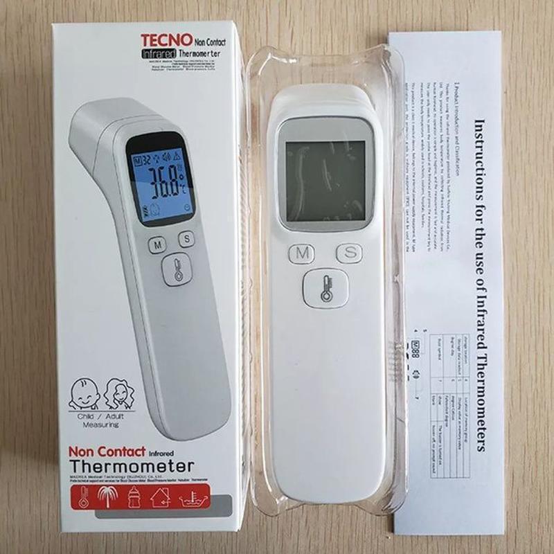 Бесконтактный инфракрасный термометр для измерения температуры Tecno