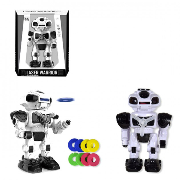 """Інтерактивний робот """"Laser Warrior"""" чорний"""