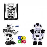 """Интерактивный робот """"Laser Warrior"""" черный"""
