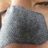 Пластир від чорних крапок з деревним вугіллям LUKE Charcoal Nose Cleansing Strips, фото 3