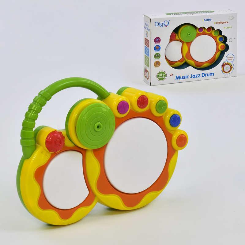 Барабан детский WD-3667 Желтый (2-3667-74235)