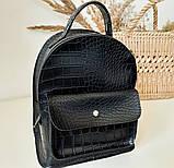 Рюкзак черный небольшой, фото 2
