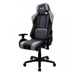 Геймерське крісло Aerocool Baron Steel Blue