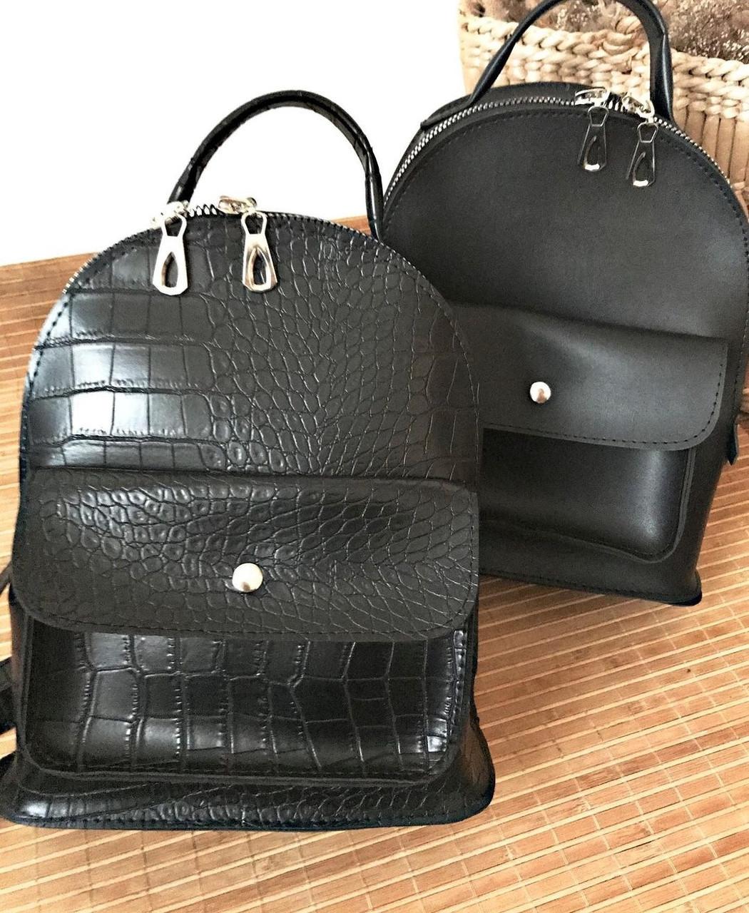 Рюкзак черный небольшой