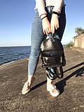 Рюкзак черный небольшой, фото 3