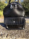Рюкзак черный небольшой, фото 4
