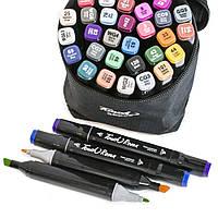 Набор маркеров для рисования Touch (36 шт./уп.) скетч-маркеры спиртовые | двусторонние фломастеры по номерам, фото 1