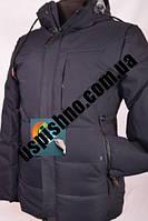 Зимова чоловіча коротка тепла куртка
