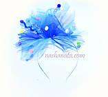Юбка фатиновая, голубая. Длина 40см., фото 6