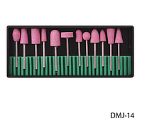 Набор насадок для фрезера из точильного камня Lady Victory (12 шт.) LDV DMJ-14 /58-3