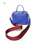 Сумка держащая квадратную форму, размер S, цвет синий, фото 2