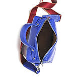 Сумка держащая квадратную форму, размер S, цвет синий, фото 5