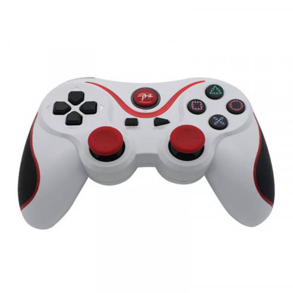 Ігровий бездротової джойстик Bluetooth Dualshock 3 для PS3\PC White