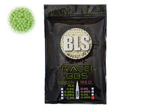 Трассерные шары PERFECT BB FLUORESCENT TRACER 0,25G – 1 KG [BLS] (для страйкбола)