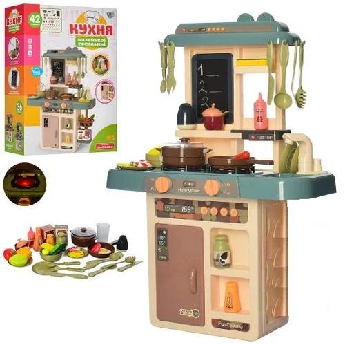Детская игровая кухня с водой и паром досточкой для рисования LIMO TOY 889-187/186