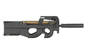 Пистолет-пулемет P90, с глушителем (cm060b) CM.060B [CYMA] (для страйкбола)