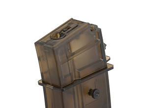Магазин из полимерного пластика бункерного типа на 450 шаров для G36/SL8 - Transparent [CYMA] (для страйкбола)