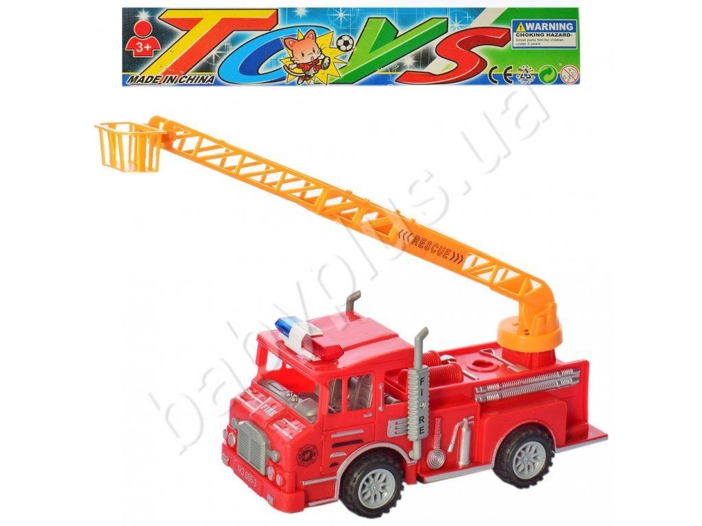 Машина інерційна Пожежна,р ухомі деталі, 688-3
