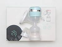 Электрический двухфазный молокоотсос 3 в 1 Baby Milk с аккумулятором USB, бутылочкой и соской для кормления