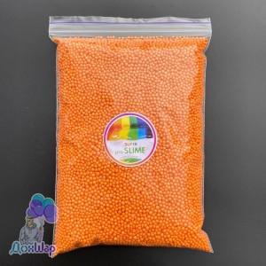 Пенопластовые шарики 1000 мл Оранжевый Цвет