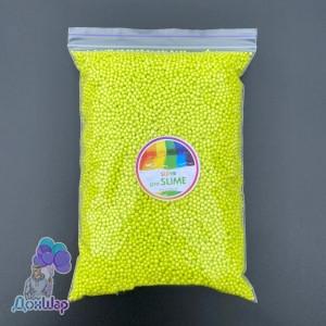 Пенопластовые шарики 1000 мл Салатовый Цвет