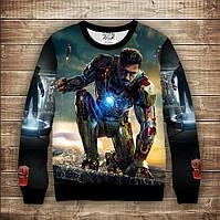 Свитшот з 3D принтом  Iron Man / Залізна людина, фото 1