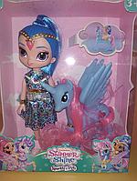 """Кукла и пони """"Шиммер и Шайн"""" с пони + подарок"""