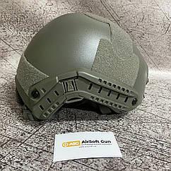 Реплика шлема FAST MH с быстрой регулировкой - Foliage [EM] (для страйкбола)
