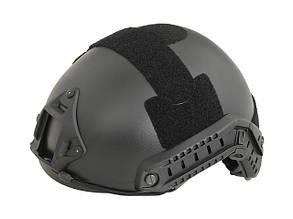 Реплика шлема с быстрой регулировкой FAST MH – BLACK [EMERSON] (для страйкбола)