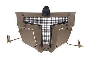 Маска для шлемов типа FAST - tan [Ultimate Tactical] (для страйкбола)
