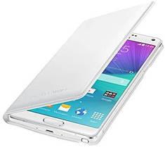 Чехол Samsung Galaxy Note 4 Flip Wallet White  (EF-WN910FTEGWW)